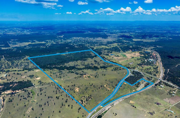 Large scale Hunter Valley industrial development application planning