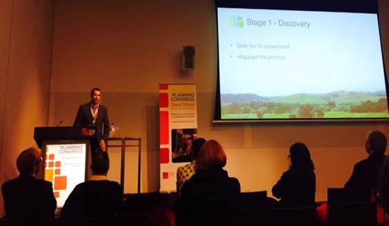 Presenting at the National PIA Conference in Melbourne on planning culture