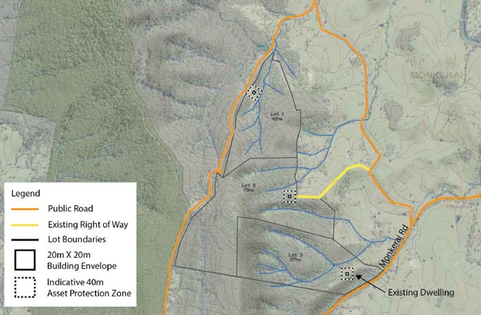 Rural subdivison applications Hunter Valley