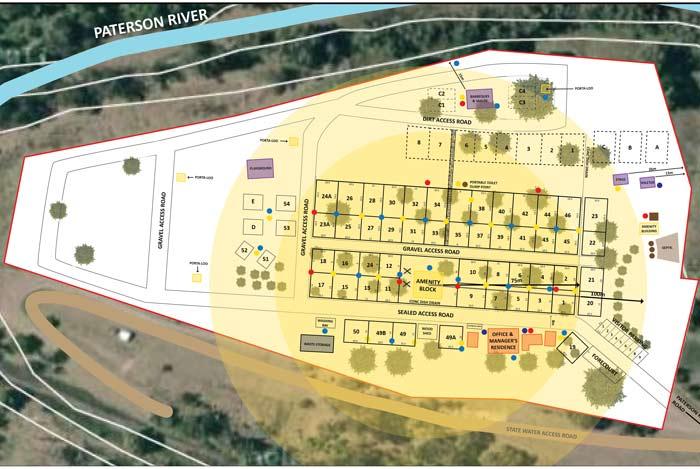 Tourist park development Port Stephens